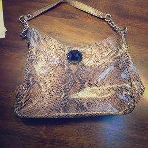 Kate Spade ♠️ snakeskin hobo purse